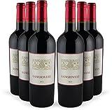 Rotwein-Set (trocken) aus Italien, Molise | 6 Flaschen (0,75l) Di Majo Norante Sangiovese Terre degli Osci 2014 | Ideal als Geschenk-Paket oder für den persönlichen Premium-Wein-Genuss