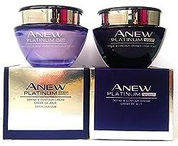 Avon Anew Platinum Define & Contour : Day Cream + Night Cream Set !