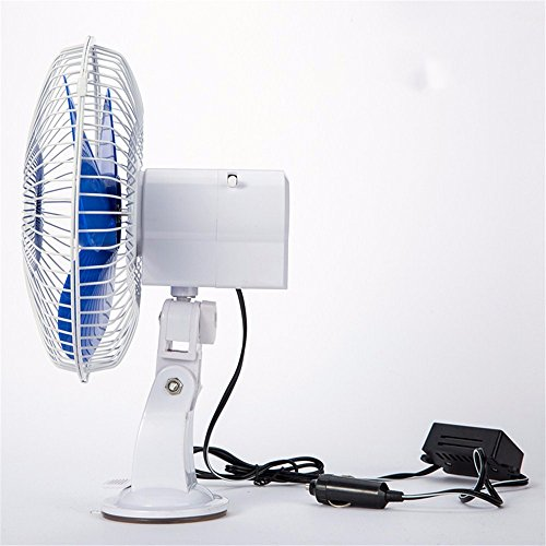 JISHUQICHEFUWU Voitures/camions/Voitures/Vent Vitesse du Ventilateur Silence/tiroir/Verre/Ventilateur d'été de 8 Pouces Voiture alimente 12V