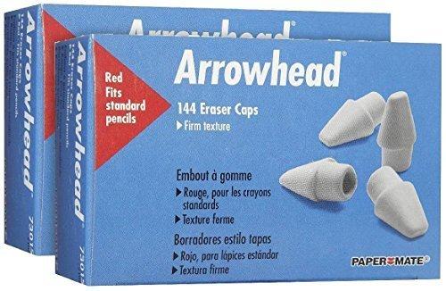 paper-mate-arrowhead-pink-cap-erasers-144-ct-2-pk-by-paper-mate