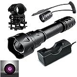 uniquefire T20IR 940nm 38mm lente de infrarrojos visión nocturna de la luz de la linterna Fuego Reg