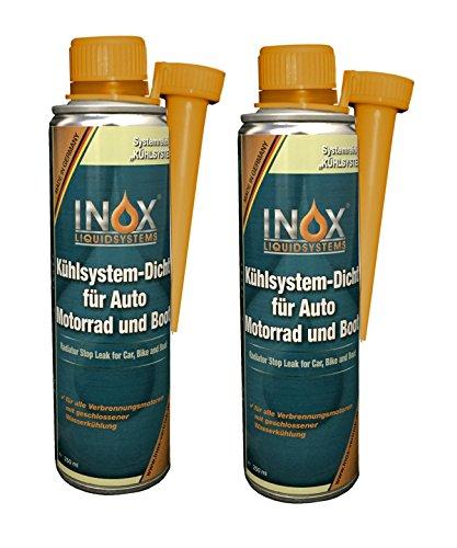 INOX Kühlsystem-Dicht Additiv, 2x 250ml - Kühlerdichtmittel mit allen Kühlmitteln mischbar