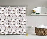 Best Black Diamond Shower Tiles - GONIESA Plaid Shower Curtain Bathroom Decor by, Moroccan Review