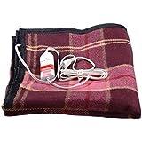 Comfort Woolen Single Bed Electric Blanket (Multicolour,RR_009)