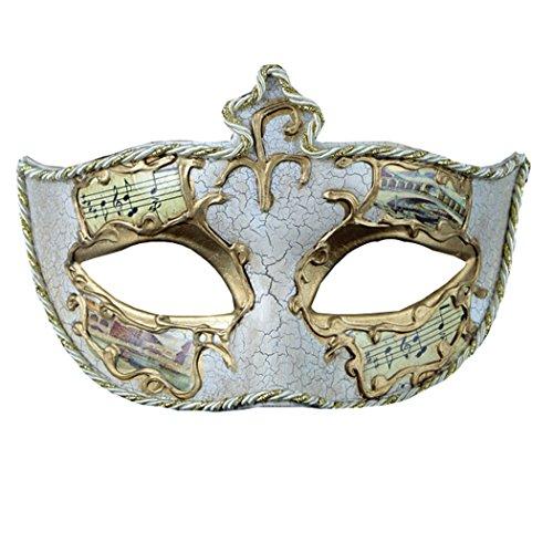 e Gesicht malen Masken Realistische Silikon Masquerade Knight Prince Masken Japanische Mardi Gras Cosplay Party (Vampire Knight Outfits)