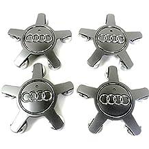 4x Alloy Wheels Centre Hub Caps 5Spokes Covers Badge 134mm Fits Audi A4A5A6S6Q5Q7R8RS4RS6TT S Line Quattro and other Models Set de cuatro Llantas Center Tapacubos Tapacubos Buje Tapa Buje tapas 5radios protectora nadadores 134mm 4F0601165N cabe Audi A4A5A6S6Q5Q7R8RS4RS6TT S Line Quattro y otros modelos