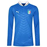 2012-13 Italy Player Version Long Sleeve Home Shirt