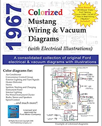 1967 colorized mustang wiring diagrams (english edition) ebook : motor  company, ford: amazon.de: kindle-shop  amazon