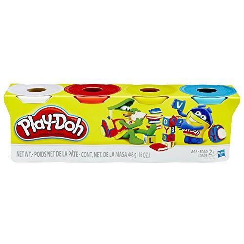 hasbro-play-doh-4er-pack-grundfarben-blau-gelb-rot-weiss-knete
