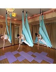 Seasofbeauty Yoga Hängematte Aerial Anti-Gravity-Schwingen Hängematte Joga 500*280cm Belastung 900kg