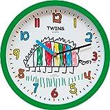 Zeit-Bar Kinder-Wanduhr Twins, LAUTLOS
