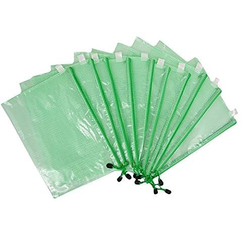 LA HAUTE File Organiser Bags A4 Waterproof Zip Document Folder