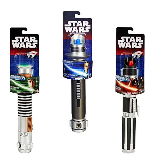 Savahe Hasbro Star Wars LASERSCHWERT # Basis  Lichtschwert  Waffe Darth Vader, Luke Skywalker,Kanan Jarrus (Grün)