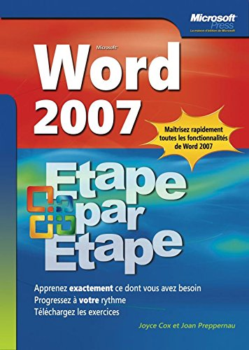 Word 2007 Etape par Etape