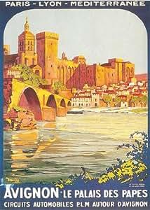 Affiche de Roger BORDERS Avignon (50 x 70cm)