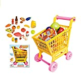 #10: FunBlast Supermarket Shopping Cart for Kids, Set of 36 Pcs, Supermarket Set for Kids, Pretend Play Toy Grocery Cart