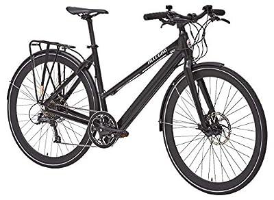 Allegro Invisible Roadbike Comfort E-Bike Unisex 28 Zoll 48cm, City Elektrofahrrad, Pedelec, Schwarz