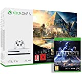 Pack Xbox One S 1 To Assassin's Creed Origins & Rainbow Six : Siege + Star Wars : Battlefront 2
