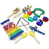 Innocheer Musical instrumentos xilófono conjunto para niños