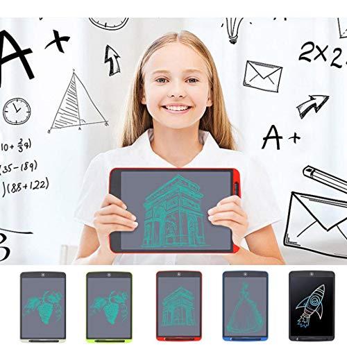 Sliwei Tableta de Escritura LCD, Tableta de gráficos electrónicos Digitales de 8.5 Pulgadas Mini Tablero Almohadilla de Escritura Adecuada para niños y Adultos para el hogar, la Escuela y la Oficina