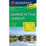 Seefeld in Tirol, Leutasch: Wandern / Rad / Langlauf. Mit Panorama. GPS-genau. 1:25.000