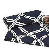 XJ&DD Tischdecken,Europäische Anti-Rutsch Baumwolle Rechteckige Tischdecke, Für Haushalt Coffee Table Schreibtisch Tischdecke-A 145x260cm(57x102inch)