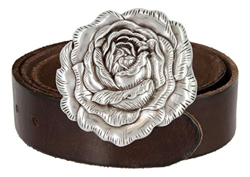 beltscom-womens-silver-rose-buckle-with-leather-belt-36-brown