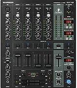 MEZCLADOR DE DJ Mesa Dj profesional de 5 canales con con faders Infinium crossfader VCA procesador FX de 24 bits BPM inteligente DUAL con beat sync display. 5 entradas con USB 3Phono/line y 1cd/line