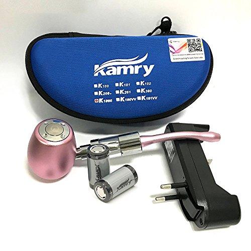 Kamry K1000 E-Pipe Classique Style électronique Shisha Starter Kit Complet Avec étui, 2PCS 900mAh Batteries Grand...
