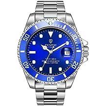 9edff29d8b2d TEVISE T801 Hombres Reloj mecánico automático de Moda Reloj Luminoso de Lujo  30M Reloj Deportivo de