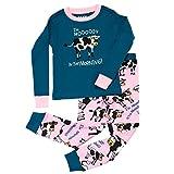 LazyOne Mädchen Mooody in Morning Kinder Pyjama Set