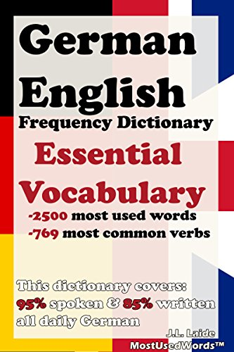 Read PDF German English Frequency Dictionary - Essential Vocabulary