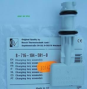 Worcester Greenstar 24I 28I Junior & 25SI 30SI Charging Link Filling Loop Key 87161045910 by Bosch