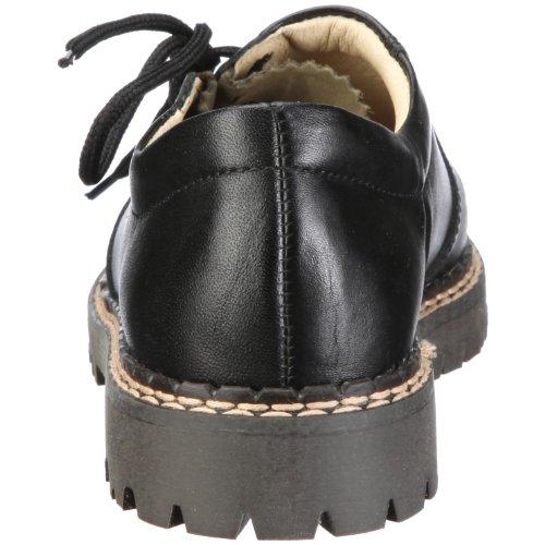 Richter, Chaussures à lacets garçon - Schwarz/Schwarz/darkolive