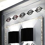 iYmitz ☯ Décoration de la pièce de Bricolage 3D Acrylique Autocollant de Mur Moderne Autocollant de décoration Autocollants