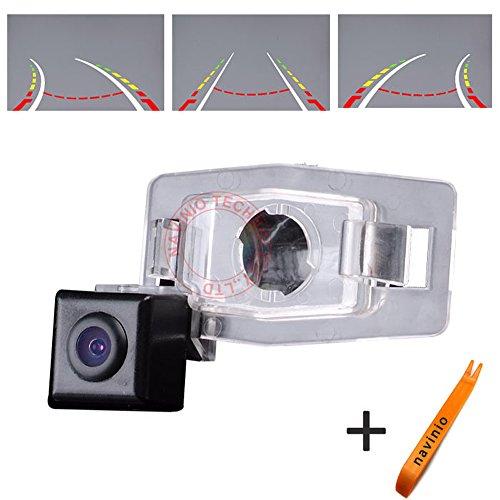 Allegro-display (170 ° Betrachtung Reversing Track Kamera Lineal Linie mit dem Lenkrad bewegen Rückansicht Backup-Kamera Parkplatz Assistent System, Nachtsicht CCD für Allegro/Familia/Premacy MK1)