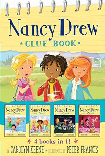 Nancy Drew Clue Book 4 books in 1!: Pool Party Puzzler; Last Lemonade Standing; A Star Witness; Big Top Flop - Boys Drew Nancy Hardy