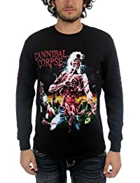 Cannibal Corpse - Eaten Back To Life Long Sleeve Adult T-Shirt