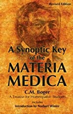 A Synoptic Key of the Materia Medica: 1