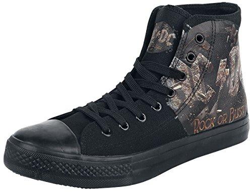 AC/DC Rock Or Bust Sneaker schwarz EU46