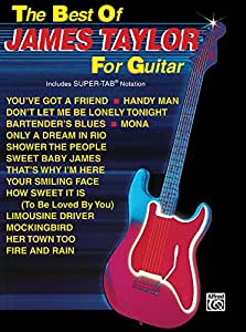 The Best of James Taylor : Songbook guitar / tab