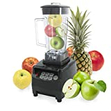 Incutex Profi Smoothie Maker Mixer Multimixer Ice Crusher mit Edelstahlmesser