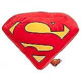 PELUCHE COJIN ALMOHADA LOGO SUPERMAN DC 45 CM