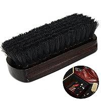 OULII Shoe Shine brosse ceinture brosse nettoyeur de bottes en cuir (noir) des soins