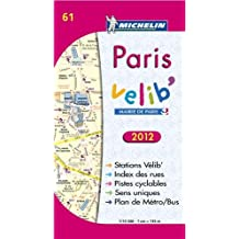 Plan de Paris Vlib 2012