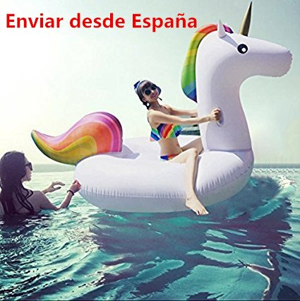 1pcs Licorne Gonflable Piscine