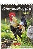Bauernweisheiten Wochenkalender. Wandkalender 2020. Wochenkalendarium. Spiralbindung. Format 16,5 x 23 cm - Jochen Dilling