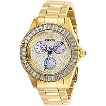 Invicta 28449 Angel Reloj para Mujer acero inoxidable Cuarzo Esfera oro 2eb309cf49d7