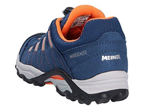 Meindl  Acri, Chaussures de ville à lacets pour garçon Bleu