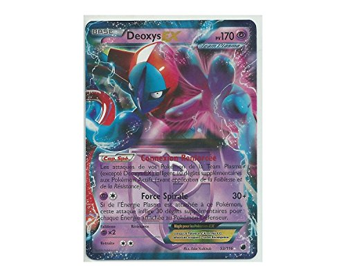 Pokémonkarte 53/116Deoxys EX Holo Reverse N & B Mindel Plasma (Die Explosion Video-spiel)